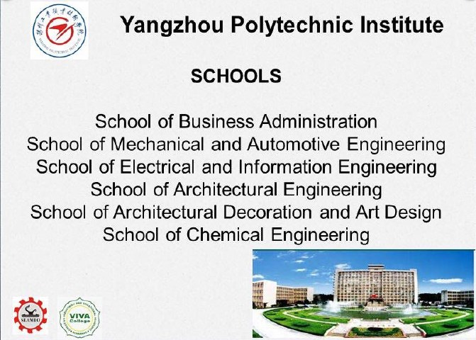 Jurusan program studi beasiswa kuliah di yangzhou polytechnic institute china
