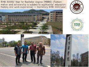 beasiswa china d3 guizhou medical university spp keperawatan