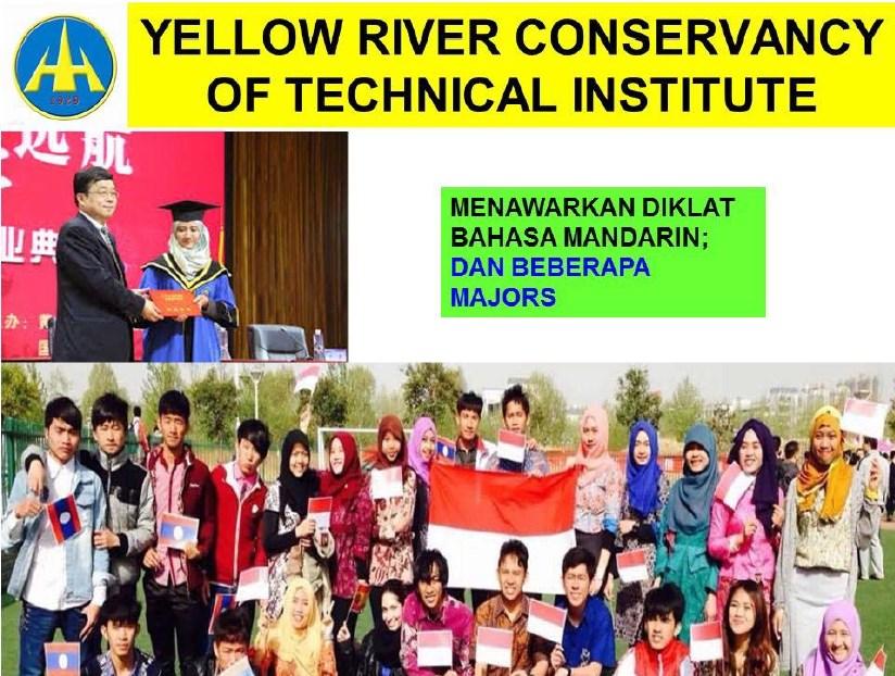 beasiswa china kuliah yellow river conservancy of technical institute