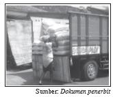 Barang dipindahkan ke truk milik pembeli berarti sudah menjadi hak pembeli dan bisa langsung dicatat dalam pembukuan.