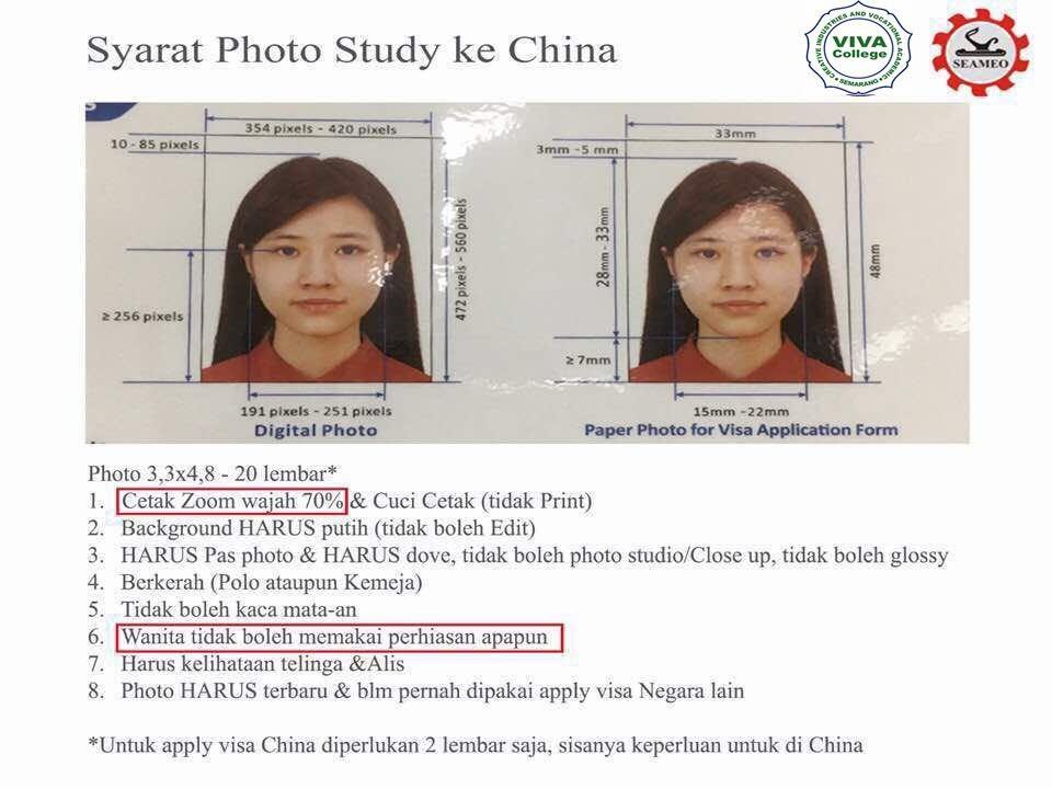 syarat foto kuliah beasiswa china