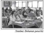 Pengurus koperasi sekolah terdiri atas siswa dan guru.