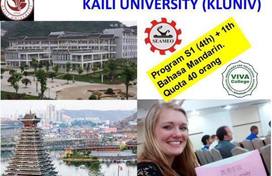beasiswa china s1 kursus bahasa mandarin kaili university