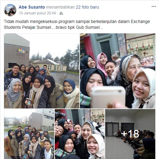 exchange students pertukaran pelajar