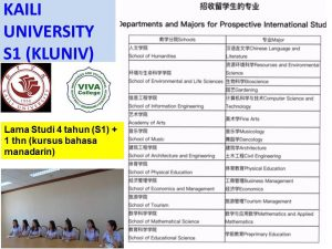 kaili university s1 kluniv beasiswa china gratis
