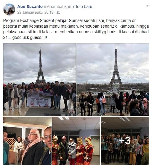 pertukaran pelajar paris