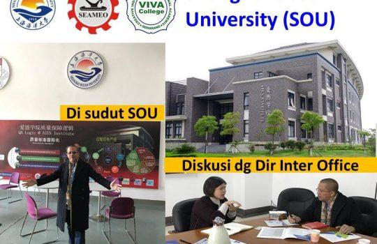 Beasiswa Kuliah S1 di Shanghai Ocean University SOU