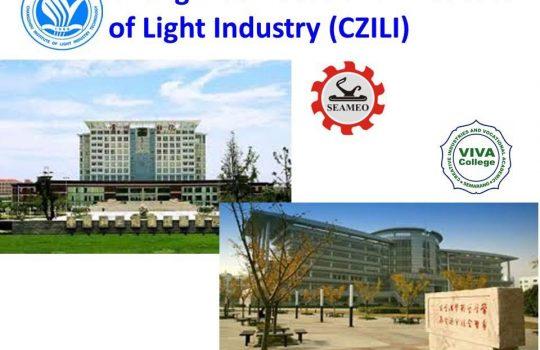 Beasiswa Kuliah di Changzhou Vocational Institute of Light Industry CZILI) China Jenjang D3