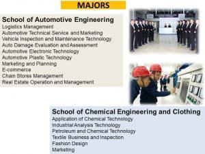 program studi Beasiswa Kuliah di Shaanxi Polytechnic Institute SXPI China Jenjang D3 3