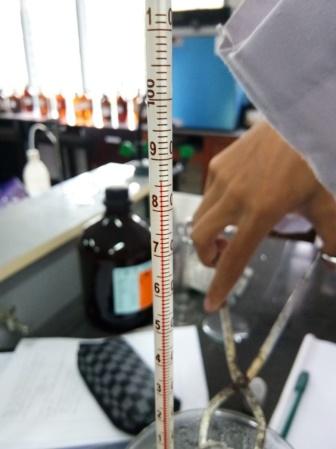 Laporan Praktikum Kimia Penentuan Berat Molekul Berdasarkan Kerapatan Gas 1