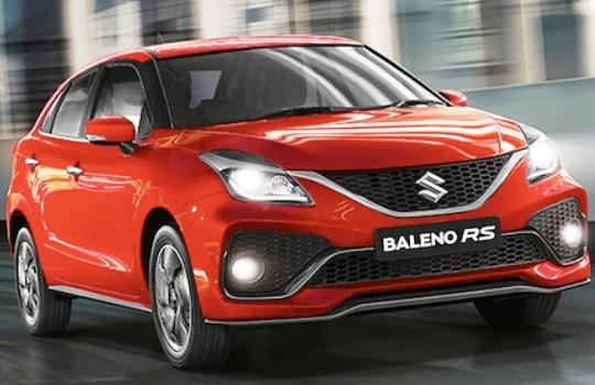 Spesifikasi Suzuki Baleno RS Facelift dengan 6 Pilihan Warna