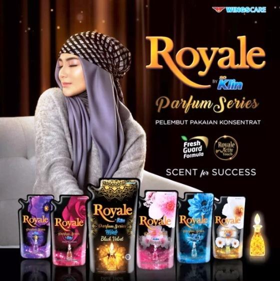 so klin royale parfume collection