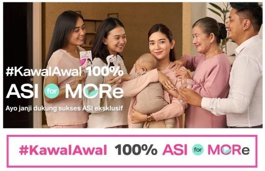 Pentingnya Pemberian ASI Ekslusif, Yuk Dukung #Kawal 100% ASI for More!